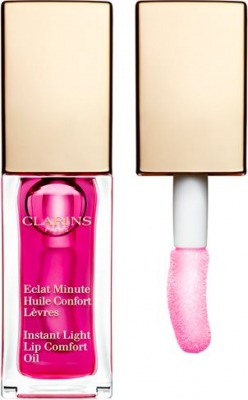 Eclat Minute Huile Confort Levres - Gloss 02 Raspberry