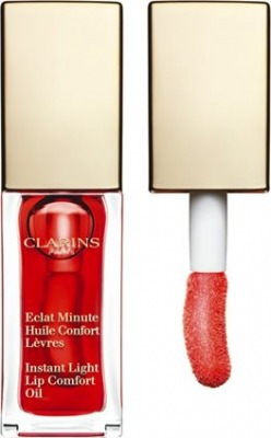 Eclat Minute Huile Confort Levres - Gloss 03 Red Berry