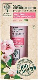 Crema Contorno Occhi con olio di Rosa Mosqueta purissimo Bio 15 ml