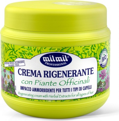Crema Rigenerante Bio con Piante Officinali 750 ml