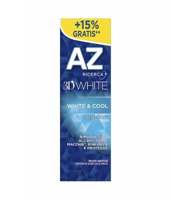 Dentifricio AZ 3D White & Cool 65 + 10 ml