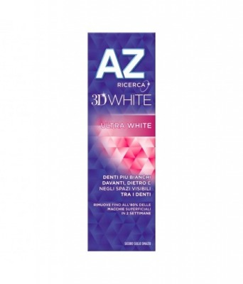 Az Dentifricio 3D White Ultra White 65 + 10 ml.