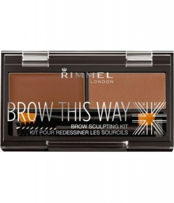 Brow This Way Eyebrow Sculpting Kit - Polvere Sopracciglia - 003 Dark Brown