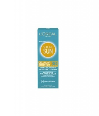 Sublime Sun Cellular Protect Crema Solare Viso SPF 30 75 ml