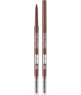 Eyebrow High Definition Pencil - Matita Sopracciglia - 002 Brown