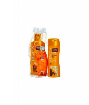 Summer Bag Argan - Body Lotion 330 ml + Shower Gel 650 ml + Olio Copro 300 ml