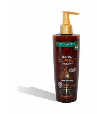 Bio Shampoo Eco-Biologico Rivitalizzante Capelli Danneggiati 300 ml
