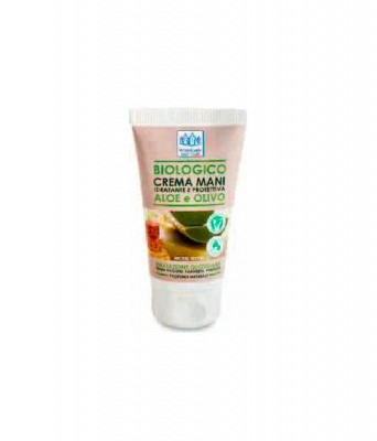 Biologico Crema Mani Aloe e Olivo 75 ml