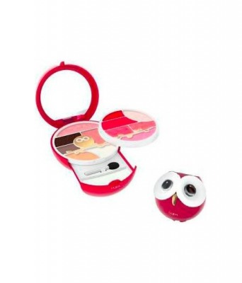 Trousse Owl 3 N.003 Rosso