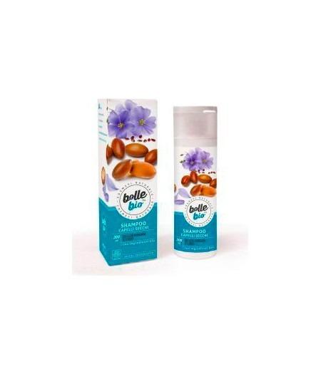Shampoo Capelli Secchi con Olio di Argan e Lino 200 ml
