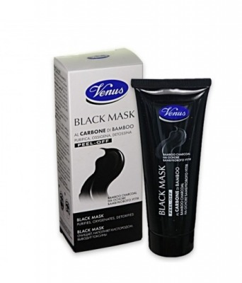 Black Mask al carbone di Bamboo 40 ml