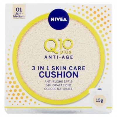 Q10 Plus Anti-Age 3 in 1 Skin Care Cushion 15 g – 01 LIGHT MEDIUM