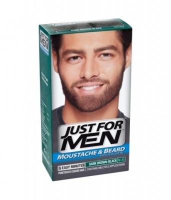Gel colorante per barba e baffi 45 castano Scuro