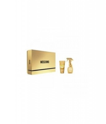 Cofanetto Regalo Fresh Couture Gold Eau De Toilette Donna 30ml + Gold Lozione Corpo 50ml