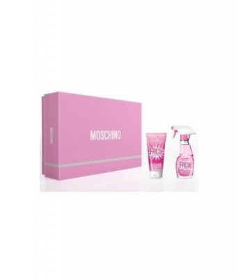 Moschino Cofanetto Pink Fresh Donna Fresh Couture Eau De Toilette 30 Ml + Body Lotion 50 Ml