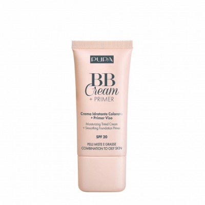 Pupa BB Cream + Primer Pelli Miste e Grasse SPF20 004