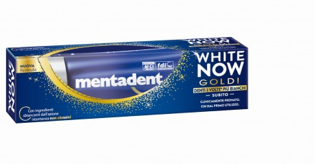 Dentifricio White Now Gold 50 ml | Mentadent