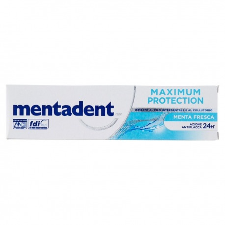 Dentifricio Maximum Protection Menta Fresca 75 ml | Mentadent
