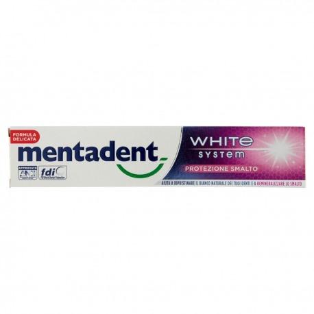 Dentifricio White System Protezione Smalto 75 ml | Mentadent