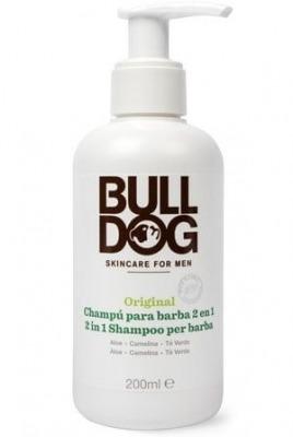 Bulldog 2 in 1 Shampoo per Barba 200 ml