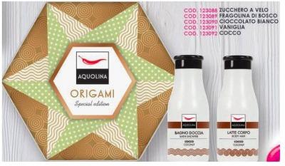 Origami Fragolina di bosco Latte Corpo 250 ml + Bagnodoccia 250 ml