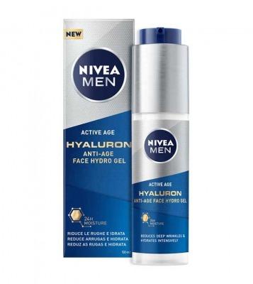 Gel viso idratante antietà Hyaluron