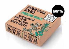 Bagno doccia Solido Muschio Bianco 80 Gr.