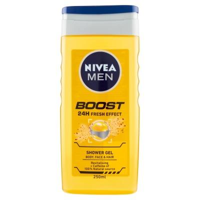 Doccia Uomo 250 ml Boost 24h Fresh Effect