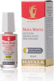 Mava-White - Sbiancante per Unghie 10 ml