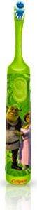 Spazzolino Da Denti Per Bambini Elettrico A Batteria Smiles Fantasia Shrek