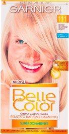 Belle Color Crema Color Facile 111 Biondo Chiarissmo Cenere Super Schiarente