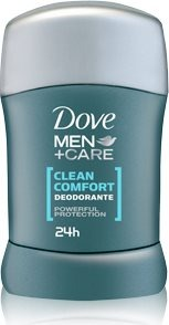 Deodorante Uomo Stick Men+Care Clean Comfort Senza Alcool 40 Ml