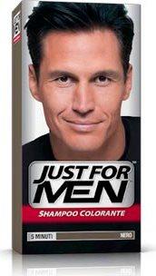 Shampoo Colorante Per Uomo Nero Naturale