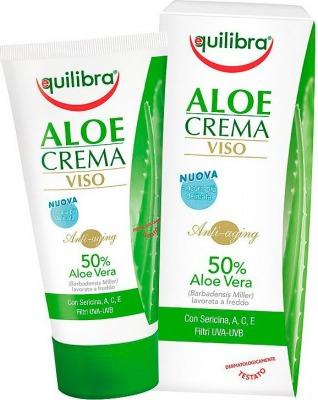 Aloe Crema Per Il Viso Antiaging E Antirughe 50Ml