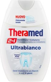 2in1 Dentifricio + Collutorio Ultrabianco 75 ml