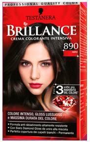 Brillance Crema Colorante Intensiva 890 Nero