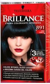 Brillance Crema Colorante Intensiva 891 Nero Cobalto