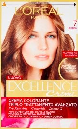 Excellence Creme Crema Colorante 7 Biondo