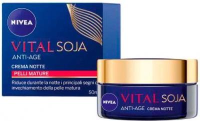 Vital Soja Anti-age crema notte pelle mature 50 ml
