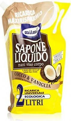 Sapone Liquido Ricarica Al Cocco 2 Lt