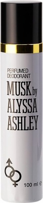 Musk by Alyssa Ashley - Deodorante spray 100 ml