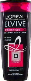Arginina Resist X3 Shampoo Rinforzante Capelli Fragili 250 ml