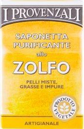 Saponetta Purificante allo Zolfo Pelli Miste, Grasse e Impure 100 g