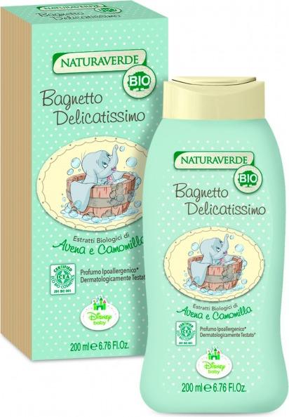 Naturaverde Bio - Bagnetto Delicatissimo 200 ml