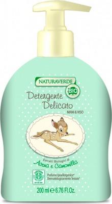 Naturaverde Bio - Detergente Delicato Mani&Viso 200 ml