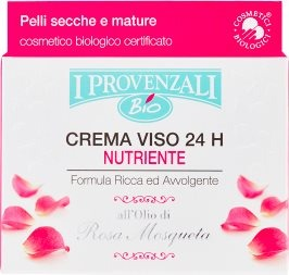 Bio Crema Viso 24 H Nutriente Pelli Secche e Mature 50 ml