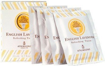 English Lavender Refreshing Tissue - Salviette Profumate 10 pz x 2 ml