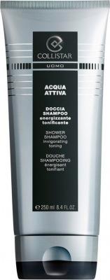 Uomo Acqua Attiva - Doccia Shampoo 250 ml