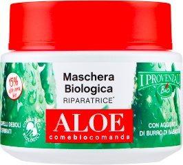 Maschera Biologica Riparatrice Aloe Capelli Deboli e Sfibrati 200 ml